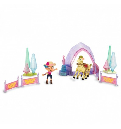 LUNA PETUNIA - SMALL PLAYSET (CRYSTAL CASTLE STABLES)