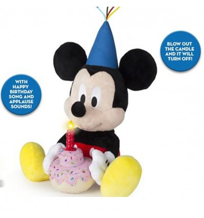 Pliš: Mickey Happy Birthday