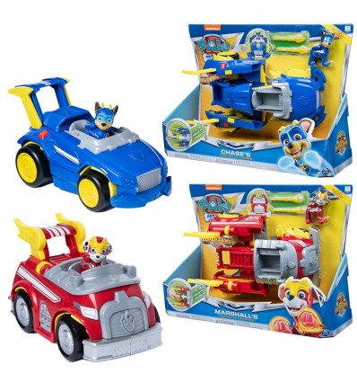 PAW: PAW PATROL POWER CHANGING VOZILO ASST