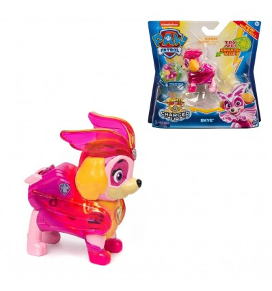 """PAW: PAW PATROL """"CHARGED UP"""" FIGURICA - SORT"""