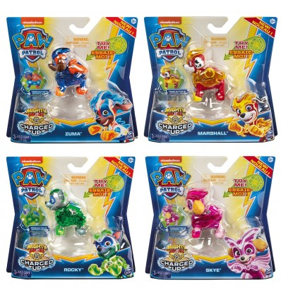 """PAW: PAW PATROL """"CHARGED UP"""" FIGURICA"""