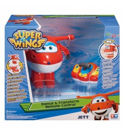 WING: SUPER WINGS - DANCE & TRANSFORM REMOTE CONTROL