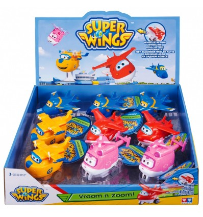 WING: SUPER WINGS - VROOM & ZOOM DONNIE