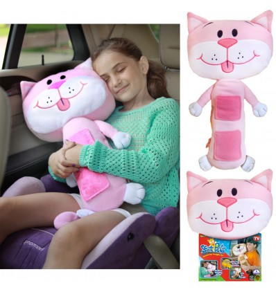 Seat Pets Pink Cat
